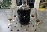 Отдается в дар Стеклянный ЧЕРЕП-бутылка