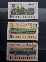 Отдается в дар Транспорт. Марки из Венгерской серии 1959 года.