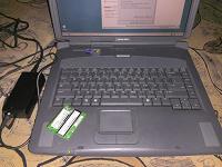 Отдается в дар ноутбук старый Compaq Presario 3000