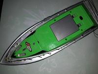 Отдается в дар Радиоуправляемая яхта на запчасти