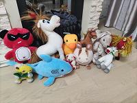 Отдается в дар Мягкие игрушки маленькие