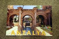 Отдается в дар Почтовая карточка, открытка из Турции