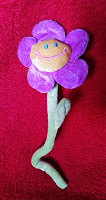 Отдается в дар Мягкий цветок игрушка