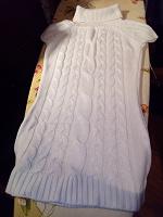 Отдается в дар Вязаное платье.