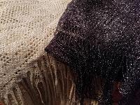 Отдается в дар Платок и шарф с люрексом