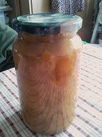 Отдается в дар Варенье персиковое.