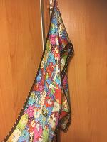 Отдается в дар Летний шарфик с котиками.