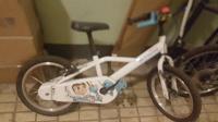 Отдается в дар Велосипед девочке 3-7 лет BTWIN