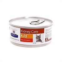 Отдается в дар Hill's вет. консервы K/D для кошек «Лечение почек», 2 банки