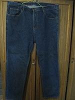 Отдается в дар Мужские джинсы большого размера.