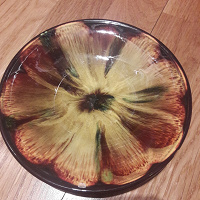Отдается в дар Блюдце керамика зик
