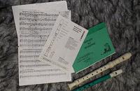 Отдается в дар Флейта и блок-флейта.