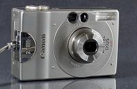 Отдается в дар Цифровой фотоаппарат Canon ixus PC 1001. Made in Japan