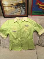 Отдается в дар Женская рубашка, размер S (44)