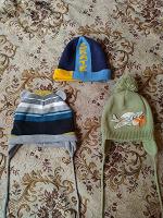 Отдается в дар 3 детских шапки