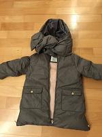 Отдается в дар Куртка Zara зимняя детская 18/24 мес. 92 см