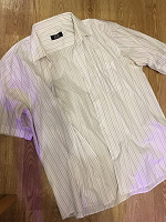 Отдается в дар Мужская рубашка большого размера
