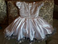 Отдается в дар Белое платьеце для девчушечки