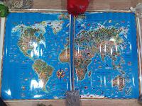 Отдается в дар Карты мира детям 12 шт.