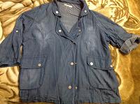 Отдается в дар Пиджак, куртка джинсовый.