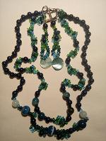 Отдается в дар Сине-зеленый набор