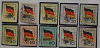 Отдается в дар марки ГДР 1959 г.