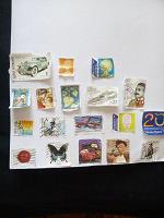 Отдается в дар марки с открыток