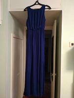 Отдается в дар Платье искусственный шелк, под ремонт, 44 размер