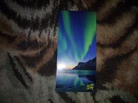 Отдается в дар красивая открытка с северным сиянием
