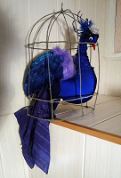 Отдается в дар Синяя Птица. Привлечёт в дом счастье