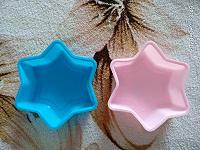 Отдается в дар Форма для выпечки Доляна «Звезда», цвет: голубой, 11 х 11 х 3 см