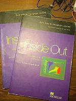 Отдается в дар Учебники inside Out