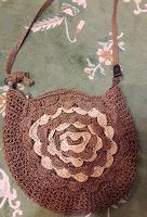 Отдается в дар сумка плетено-вязанная