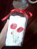 Отдается в дар Подарочное полотенце