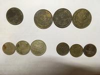 Отдается в дар Монетки СССР (2,3,10,15,20 коп.)