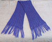 Отдается в дар Сиреневый шарф