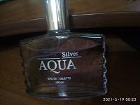 Отдается в дар Туалетная вода мужская Aqua Silver, 100 мл