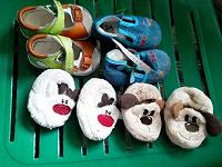 Отдается в дар Пинетки и туфельки малышу