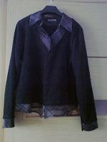 Отдается в дар блуза(-обманка)