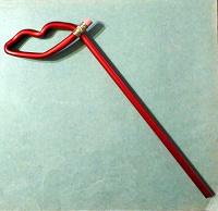 Отдается в дар Карандаш с ластиком (сувенир)