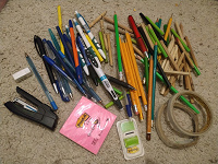 Отдается в дар Канцтовары, карандаши, ручки