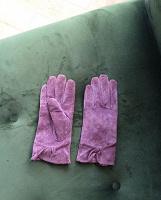 Отдается в дар Замшевые перчатки