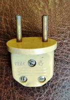 Отдается в дар Вилка сетевая 220 вольт стандарта СССР