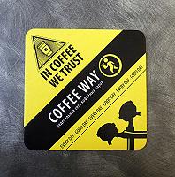 Отдается в дар Кофейный бирдекель