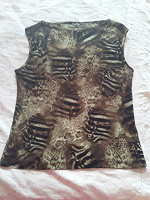 Отдается в дар Майка- блузка 48-50