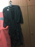Отдается в дар Платье-костюм черное