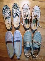 Отдается в дар Летняя женская обувь 38 р-р