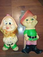 Отдается в дар Советские резиновые игрушки
