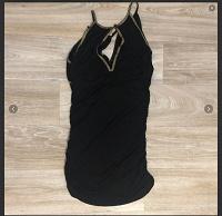 Отдается в дар Чёрное короткое платье Xs River Island