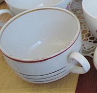 Отдается в дар Старинная чашка Вербилки